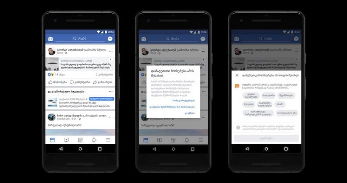 Facebook helping Georgia counter misinformation by launching fact-checking programme