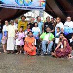 Leadership Fiji's Tilapia group members hold peace-themed poetry slam