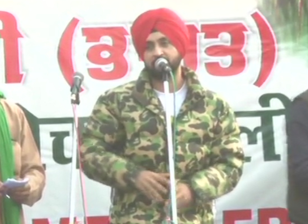 Diljit Dosanjh joins farmers' protest at Singhu border, urges the govt to accept demands by farmers : Bollywood News - Bollywood Hungama