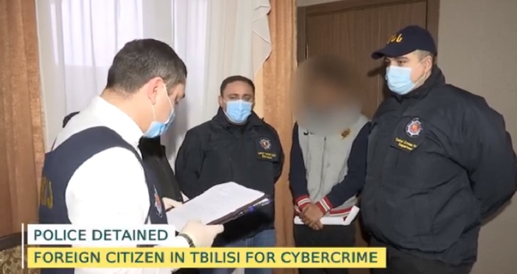 Indian citizen detained for cybercrime in Tbilisi