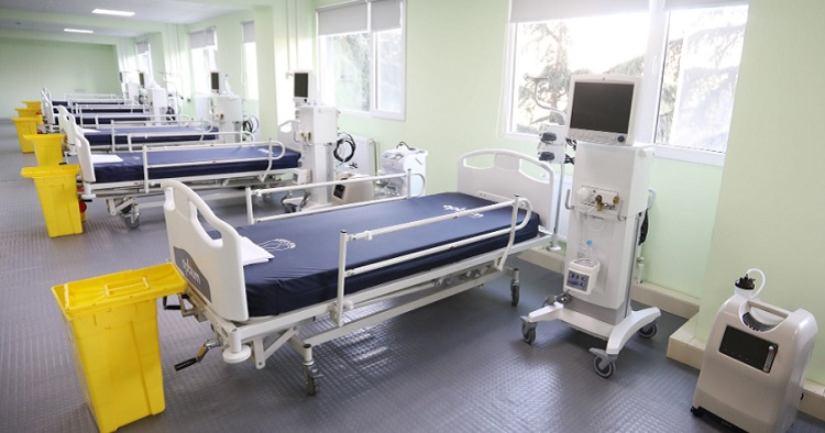 New Covid-19 clinic opens in Tbilisi Republican Hospital