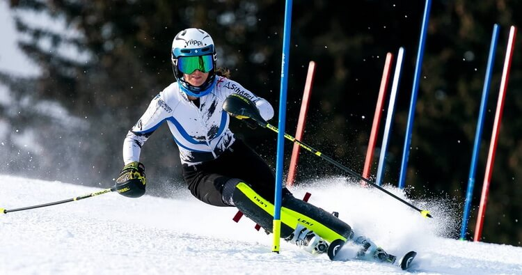 Skier Nino Tsiklauri scores best results of FIS season in Italy