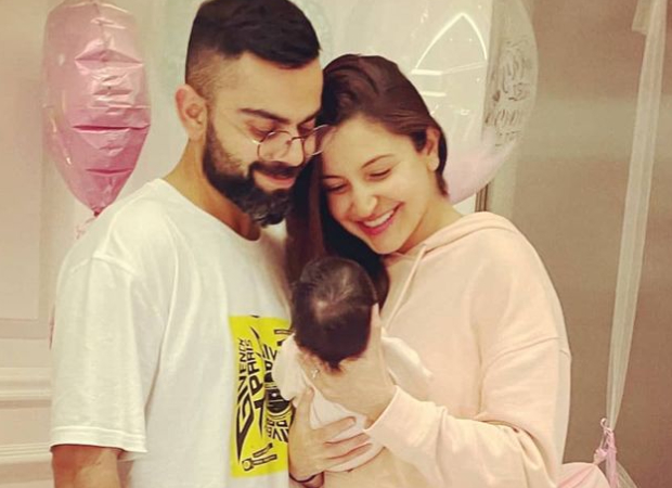 Anushka Sharma and Virat Kohli name their daughter Vamika, check out their adorable family photo : Bollywood News - Bollywood Hungama