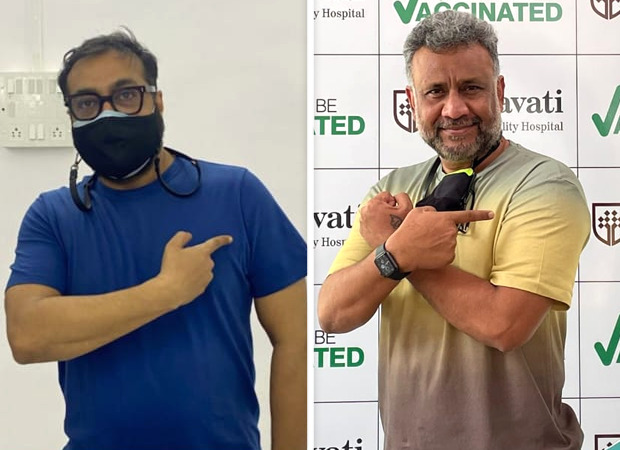 Anurag Kashyap and Anubhav Sinha receive first dose of COVID-19 vaccine : Bollywood News - Bollywood Hungama