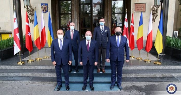 Romanian, Polish, Turkish FMs: we support Euro-Atlantic aspirations of Georgia, Ukraine