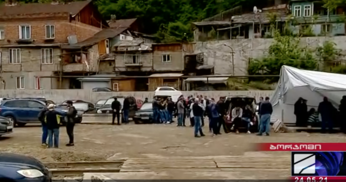 7th day of protest: workers at Borjomi mineral water plant announce large-scale rallies