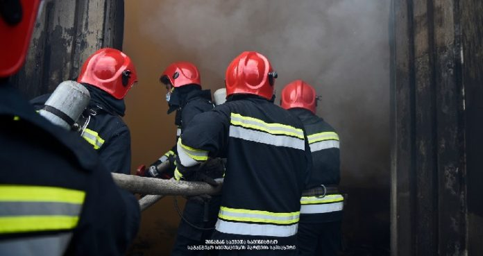 Fire in Tbilisi's Temka district extinguished