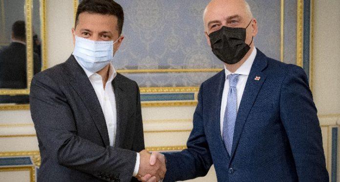 Georgian FM, Ukrainian President meet in Kiev