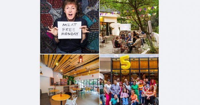 Tbilisi's Mziuri Park Cafe marks anniversary with message from Paul McCartney